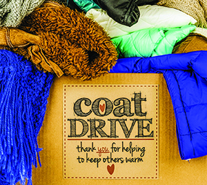 """A coat drive called """"Keep Cleveland County Warm"""""""