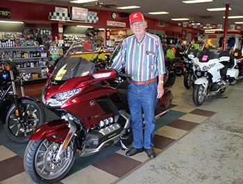 Honda Motorcycles of Shelby celebrates 50th anniversary