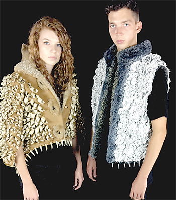 Fashion show features scripture clothing