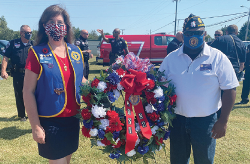9/11 Patriot Day ceremony observed by Legion Post 82