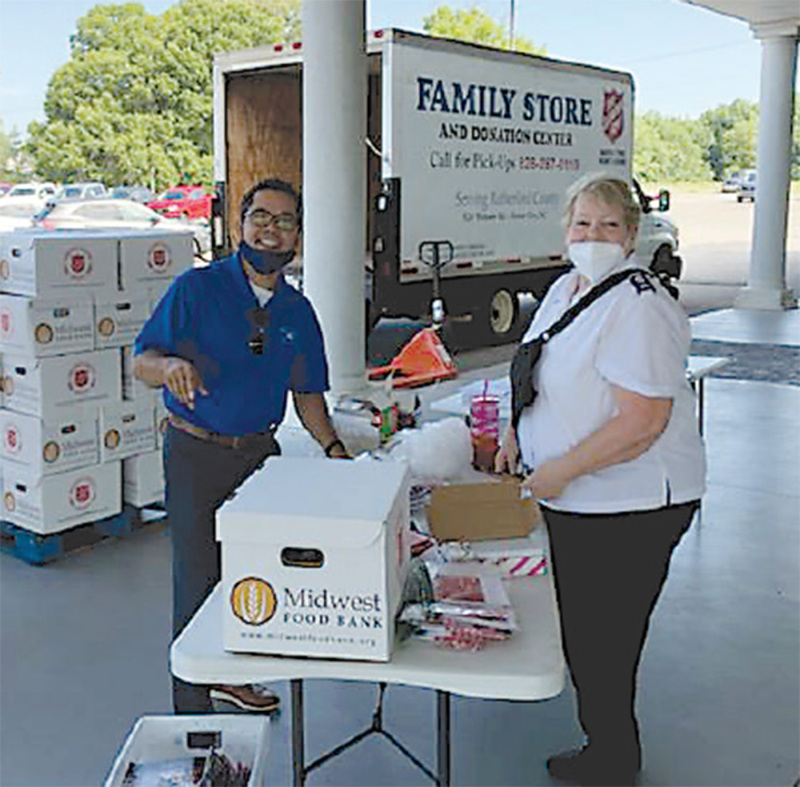 Salvation Army serves community in many ways