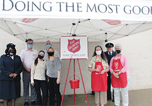 Salvation Army opens giving season with Red Kettle Kick-off event
